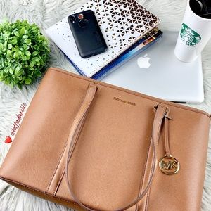 MICHAEL KORS Leather Tote or Laptop Bag